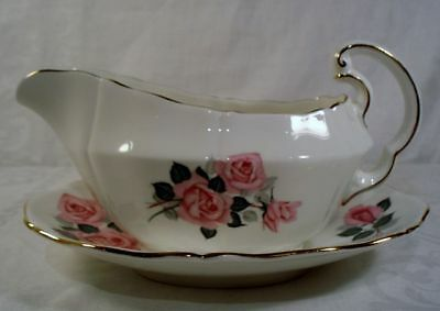 Adderley H1025 Gravy Boat with Underplate