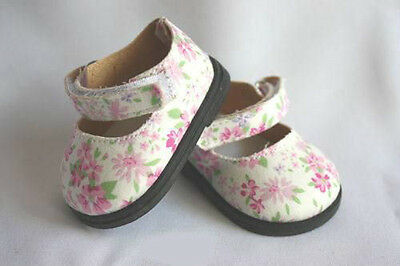REBORN DOLL SUPPLIES Reborn Doll  Ribbon Side Mary Jane Shoes Pink size 72 mm
