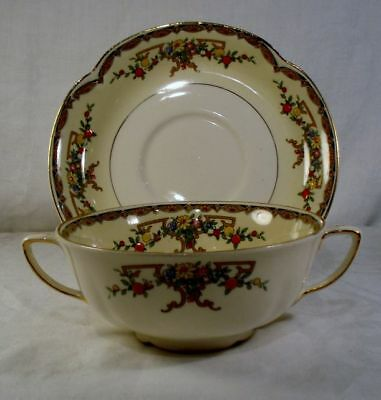 Johnson Brothers Riviera Cream Soup and Saucer Set