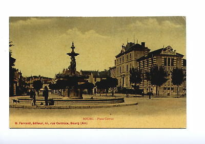 01-* BOURG place carriat