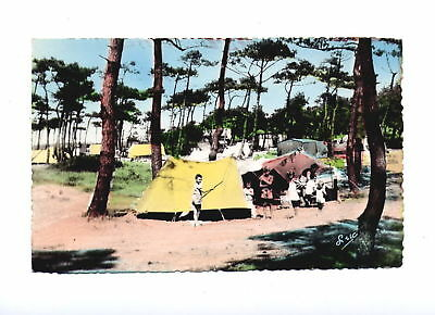 80-* CAYEUX  le camping  CPSM
