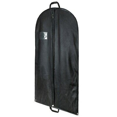 "3 Black Suit Covers Garment Clothes Travel Storage Protector Bag 40"" Hangerworld"