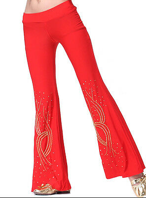 belly dance bead embroider trousers pants 9 colours