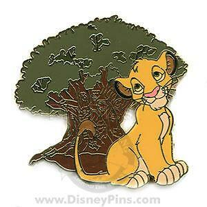 Disney Mystery Tin Simba Only Pin