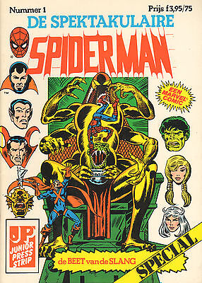 SPIDERMAN SPECIAL COMPLETE SERIE 1 t/m 20 (1983-1988)