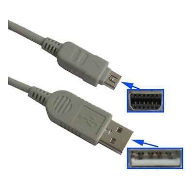Usb Data Cable For Olympus Fe-120 130 140 200 & Fe 5500