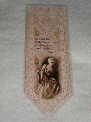 Primitive Victorian Style Laminated Bookmark