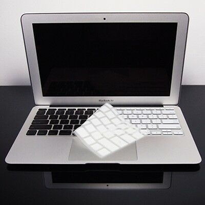 WHITE Silicone Keyboard Cover for NEW Macbook Air 11""