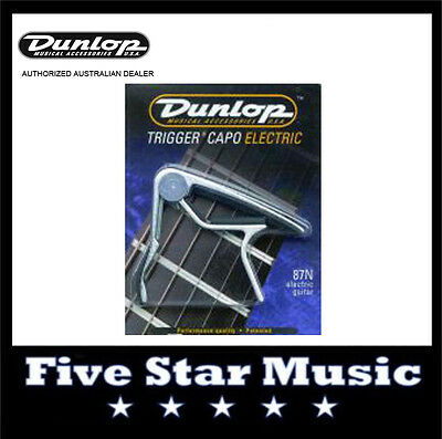 Jim Dunlop Trigger Capo J87 electric guitar. Nickel NEW