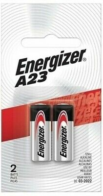 A23 Energizer Battery, 12 Volt - 2 Pack