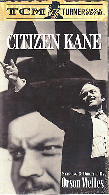 Citizen Kane (VHS, 1999) - Politcal Drama - NEW/SEALED