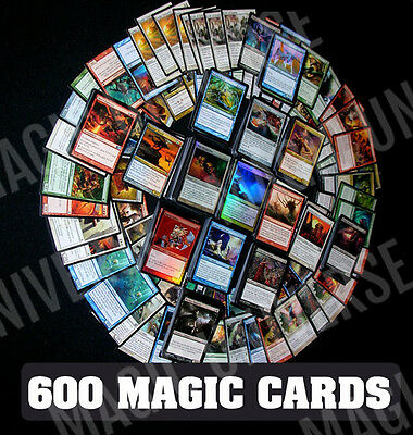 600 Magic The Gathering Mtg Cards Ultimate Lot W/ Rares