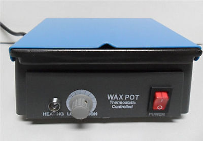 Dental Laboratory Jewelry Wax Heater Pot Thermostatic Control 110V 345-1115