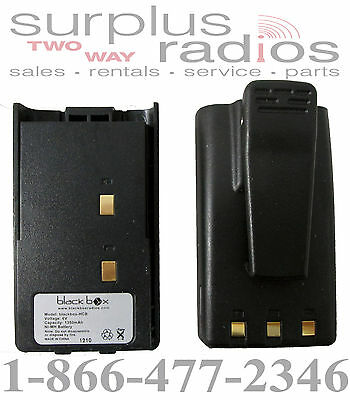 Blackbox Standard Radio OEM High Capacity Ni-Mh 1350mAh Battery With Belt Clip