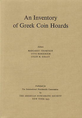 PFJ - AN INVENTORY OF GREEK COIN HORDS. Münzhorte