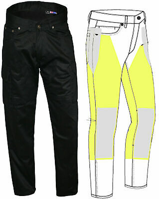 NEW MENS LADYS MOTORCYCLE REINFORCED WITH DuPont™ KEVLAR®  JEANS ALL SIZES