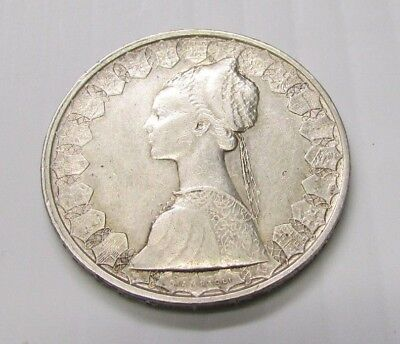 1959 ~ 500 Lire ~ .835% Silver Coin   Must See