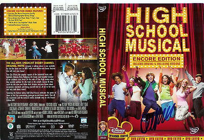 Olesya Rulin  Autographed High School Musical DVD Cover