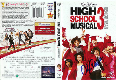 Olesya Rulin Autographed High School Musical3 DVD Cover