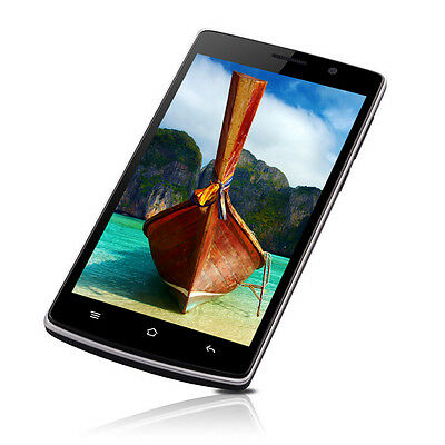 """5"""" HD Android4.4 KitKat 3G Smart Phone 8GB GPS Unlocked AT&T T-Mobile Fido PACE"""