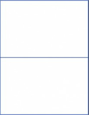 50 LABELS) PRIORITY Mail Click-N-Ship Double blank stickers
