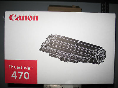 Qty 1 New 1515B001Aa Oem Canon Fp470 Toner Cartridge  Fp-470 1515B001