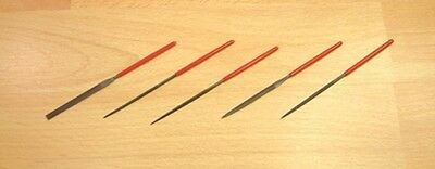 Expo 72535 - 5 piece Modellers Mini Needle Files Set In Wallet - 1st Class Post