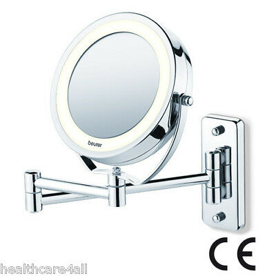 Beurer BS59 Illuminated LED Cosmetic MakeUp WALL Mirror