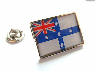 GOVERNOR GENERAL OF AUSTRALIA FLAG LAPEL PIN BADGE GIFT