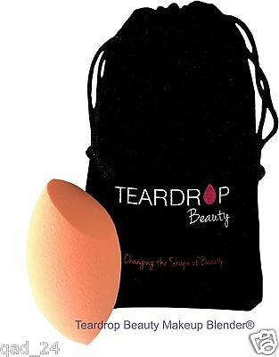 Original Teardrop Beauty Makeup Blender® Blending Foundation Curve Orange Sponge