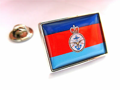 Uk Armed Forces Tri-Service Flag Lapel Pin Badge Gift