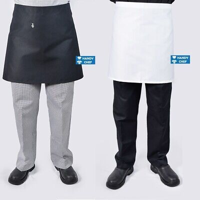 Chef Half Aprons 5 Pack - .., see handychef for chef jackets, chef pants, hats.,