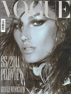 VOGUE Italia DEC 2010 GISELE BUNDCHEN Gemma Arterton KATE MOSS Eniko Mihalik NEW
