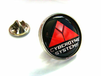 Terminator Cyberdyne Systems Skynet Lapel Pin Badge