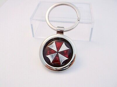 Resident Evil Umbrella Corporation Key Fob Keyring Gift