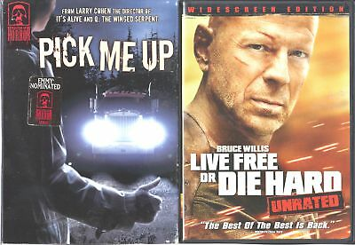 Masters of Horror - Larry Cohen: Pick Me Up & LFOD HARD