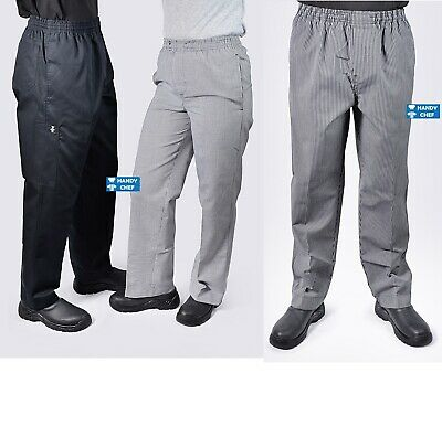 Chef Pants - Black Chef Pant, Check Chef Pant - See store for Chef Jackets,caps.