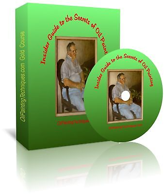 Oil Painting Techniques Lessons on DVD (Gold Version)