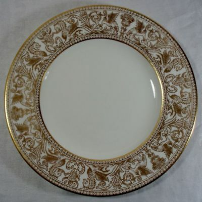 Wedgwood Gold Florentine Luncheon Plate