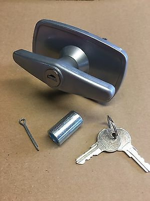 NEW MARLEY Garage Door T-Handle LOCK parts 15mm Autodor Truckman Top