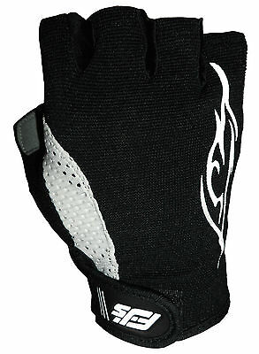 Fl New Fjs Gel Padded Cycling Wheelchair / Mtb / Bmx / Crutches Sports Gloves