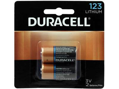 Duracell DL123A, 3V Photo Lithium Batteries 2 Pk Exp. 2024
