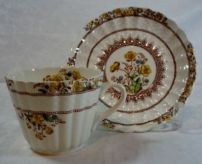 Spode Buttercup Cup and Saucer