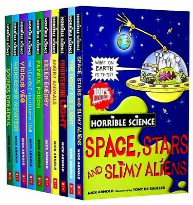 Horrible Science 10 Books Set Two New RRP £49.90