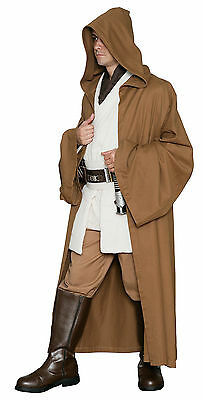 Light Brown JEDI ROBE Only - Excellent Quality Star Wars Costume Cloak from UK