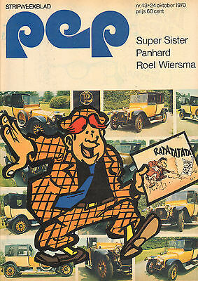 PEP 1970  nr. 43 - SUPERSISTER / JOHNNY GOODBYE (COVER) / ROEL WIERSMA / COMICS