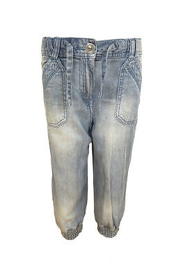 Girls New 3/4 Harem Quality Jeans/Pants Ex-Chainstore 5Y-13Y