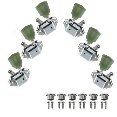 Chrome Deluxe Tuning Pegs 3L3R Machine Heads for LP