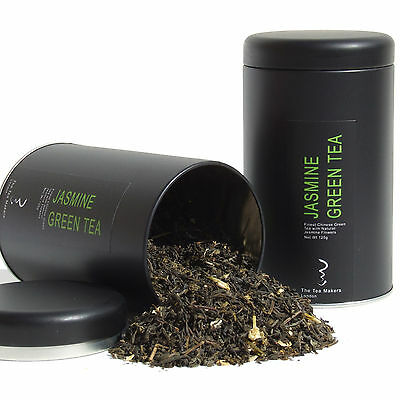 Natural Chinese Jasmine Green Loose Leaf Tea with Flowers - Refreshing Flavour