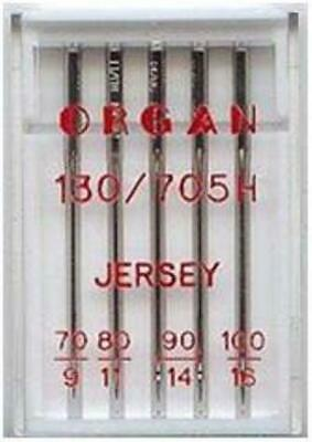 Organ Domestic Sewing Machine Needles Jersey Ball Point Mix Works On  Brother +